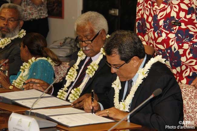 Le Congrès de Nouvelle-Calédonie valide le partenariat avec l'assemblée de Polynésie française