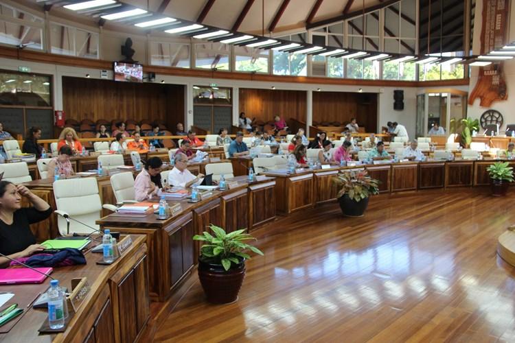 Sixième séance de la session administrative