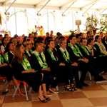 Cérémonie de graduation des étudiants de l'école de commerce de Tahiti