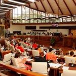 Le budget général 2018 de la Polynésie française adoptée en séance à l'assemblée