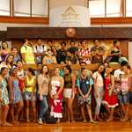 Les élèves du Lycée de Taiarapu Nui en visite à l'assemblée
