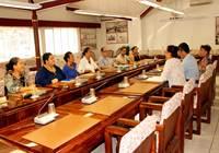 Marcel TUIHANI accueille les lauréats du concours de recrutement de l'assemblée de la Polynésie française