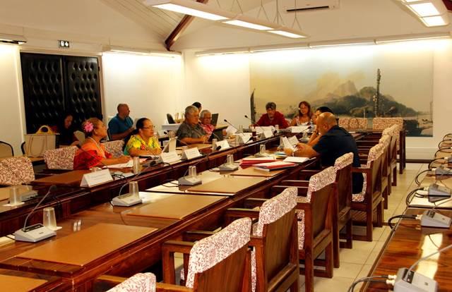 Réunion de la commission de contrôle budgétaire et financier