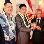 La délégation de la ville de Beihai en visite protocolaire à l'assemblée de la Polynésie française