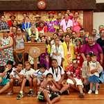 Les lauréats du concours de orero visitent l'assemblée de la Polynésie française