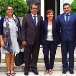 La délégation polynésienne à la rencontre de la ministre des Outre-mer et du président du comité d'indemnisation des victimes des essais nucléaires