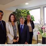 Le président de la Polynésie française et le président de l'assemblée terminent leur série de visites protocolaires en métropole