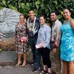 M. Kaiali'i Kahele, sénateur de l'état d'Hawaii, en visite à l'assemblée de la Polynésie française