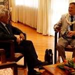 Le nouveau secrétaire général du haut-commissaire rencontre le président de l'assemblée de la Polynésie française