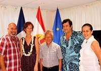 Le président de l'assemblée reçoit Mme Béatrice CLICQ, secrétaire confédérale nationale de l'organisation syndicale « Force Ouvrière »