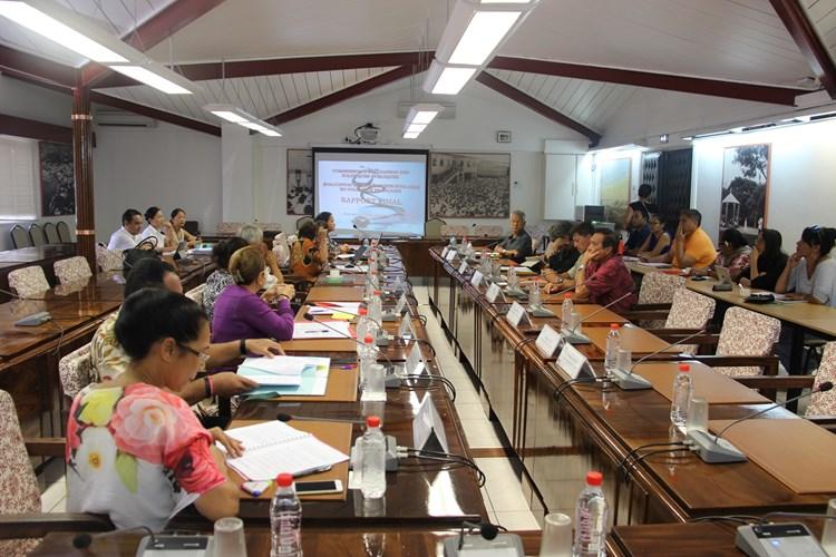 Le rapport de la mission d'évaluation sur la médecine scolaire présenté aux membres de la commission d'évaluation des politiques publiques.