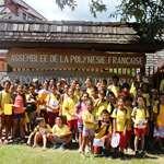 Des élèves du groupe scolaire HITIVAINUI-VAITAMA découvrent l'assemblée de la Polynésie française