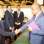 Le président Gaston TONG SANG et les membres de la délégation conduite par Edouard FRITCH rencontrent les ambassadeurs du Vanuatu et de la France à l'ONU