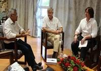 Le président de l'assemblée reçoit le président de l'autorité polynésienne de la concurrence