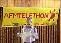 Le président de l'assemblée ouvre les trois journées d'actions en faveur du téléthon