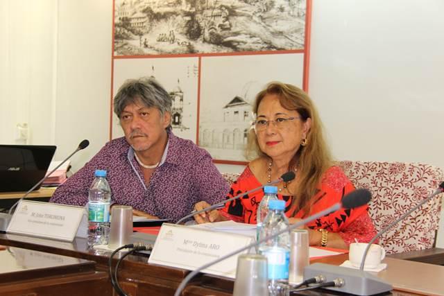39 projets d'arrêté étudiés en commission de contrôle budgétaire et financier de l'assemblée de la Polynésie française