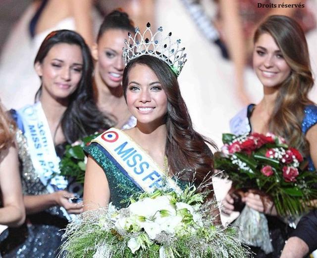 Le président de l'assemblée adresse ses félicitations à Vaimalama CHAVES, Miss France 2019