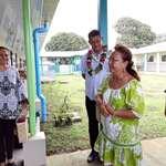 """Les membres de la CCBF visitent le Lycée d'enseignement agricole """"John DOOM"""" de Taravao"""