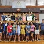 Les délégués de classe du Lycée Tuianu LEGAYIC de Papara en visite à l'assemblée
