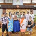 Des stagiaires du Centre de formation Horizons-Francophones visitent l'assemblée