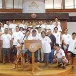 La paroisse Ste Thérèse et la paroisse St Jean Bosco en visite à l'assemblée