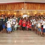 Le CLSH Auti Rea de Hitia'a O Te Ra découvre l'assemblée de la Polynésie française