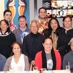 Le président de l'assemblée rencontre les malades Polynésiens soignés à Auckland