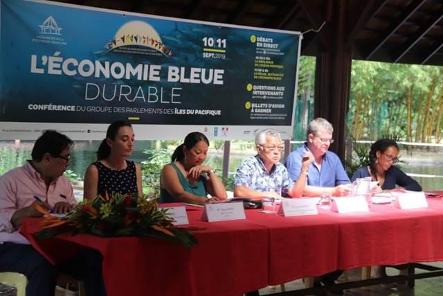 Les Parlements des Iles du Pacifique réunis à Taraho'i les 10 et 11 septembre 2019  autour du thème de l'économie bleue durable