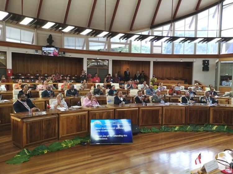 La déclaration de Taraho'i – Pacte pour l'économie bleue durable adoptée par consensus