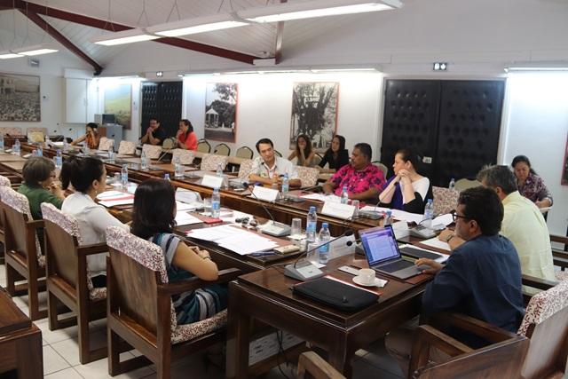 Un projet d'avis sur le projet d'article du projet de loi de finances 2020 portant sur la création d'un prélèvement sur recettes à destination de la Polynésie française étudié en commission des finances