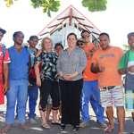Des stagiaires du centre de formation Rima Here visitent la 3ème institution du pays