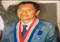Condoléances du président Gaston TONG SANG suite au décès de M. Ismaël TUAHU