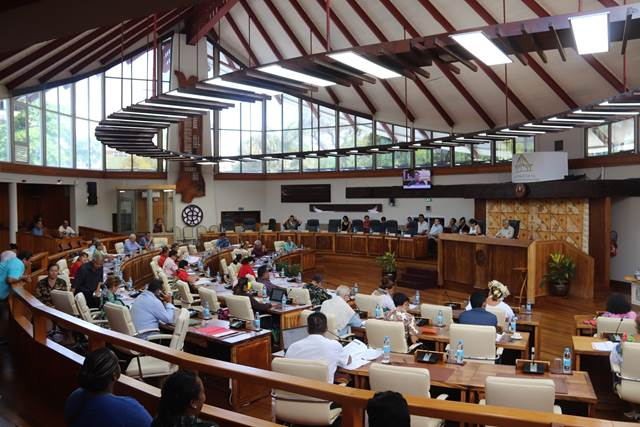 Trois textes adoptés lors de la 4e séance de la session budgétaire.