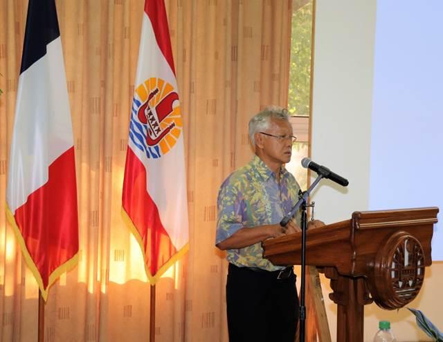 Intervention du Président de l'assemblée de la Polynésie française dans le cadre du Séminaire du Conseil de coopération économique du Pacifique