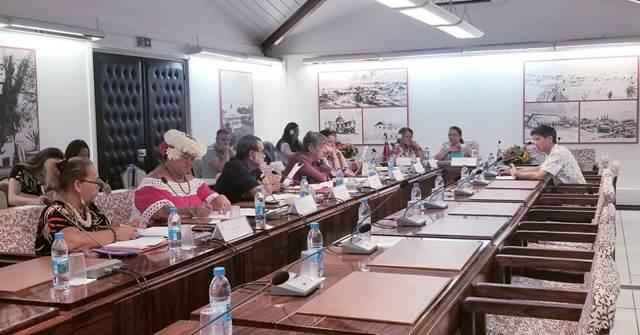 Trois projets d'arrêté étudiés en commission de contrôle budgétaire et financier de l'assemblée de la Polynésie française