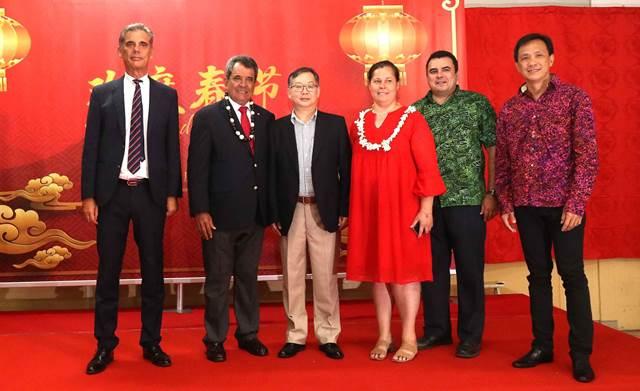 La fête du printemps chinois célébrée en présence de Madame Tepuaraurii TERIITAHI