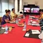 Les représentants informés par le gouvernement sur l'évolution de la gestion de la crise liée à l'épidémie de Covid-19