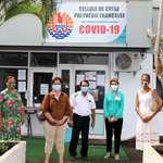 Les élus de l'assemblée visitent le PC de crise épidémiologique «Covid-19»