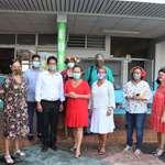 La 1ère vice-présidente de l'assemblée et les membres de la commission de l'éducation ont visité plusieurs écoles