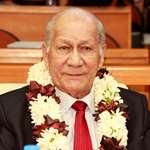 Décès de Jacquie GRAFFE : l'assemblée de la Polynésie française pleure la disparition de son doyen d'âge