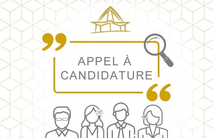 3 Appels à candidatures pour 4 postes de Catégorie A