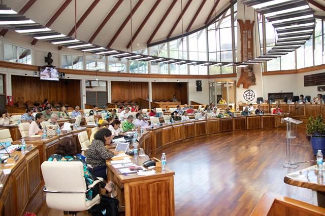 Onze textes adoptés lors de la deuxième séance de la session extraordinaire de l'assemblée