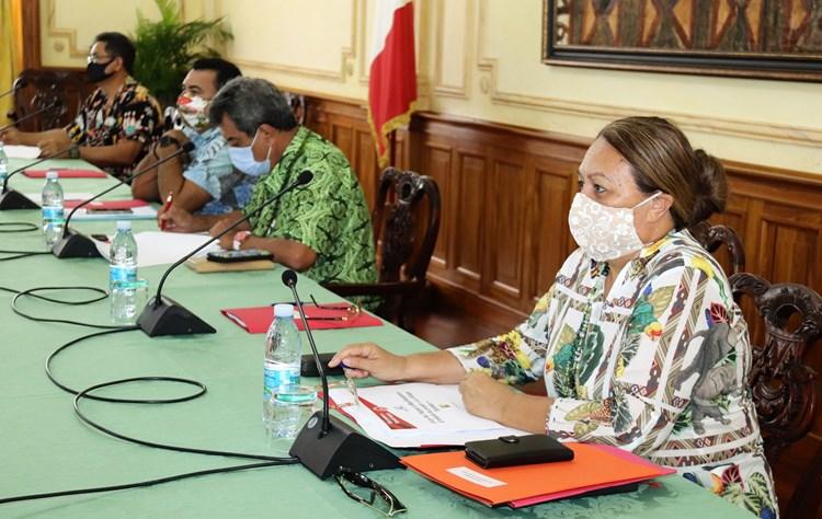 Village Tahitien: bilan des auditions des porteurs de projet en présence de la 1ère vice-présidente