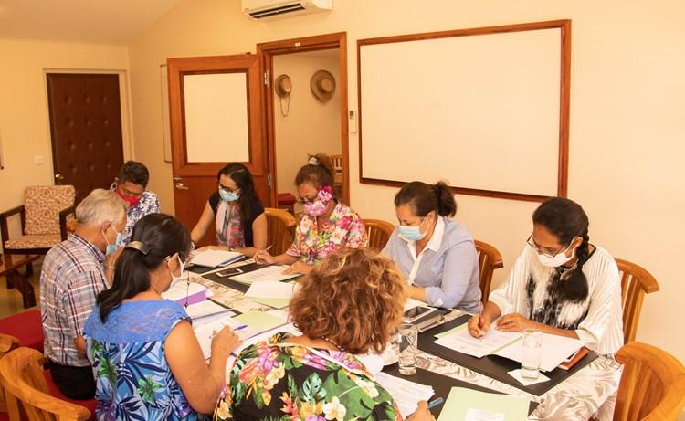 Les présidents de groupes ont validé l'ordre du jour de la prochaine séance de la session budgétaire