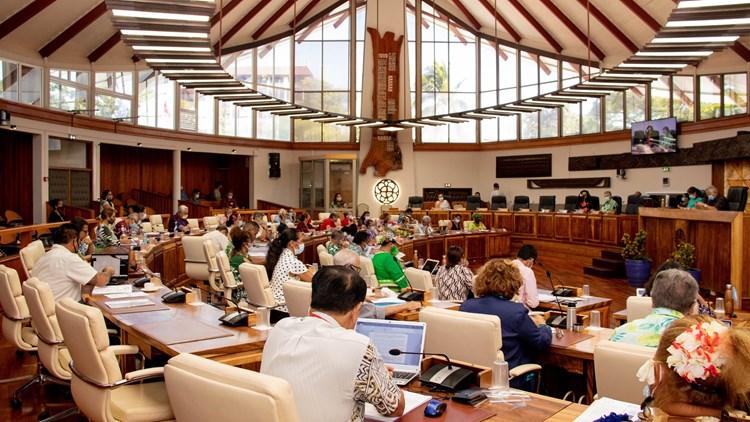 Six textes adoptés lors de la deuxième séance de la session budgétaire