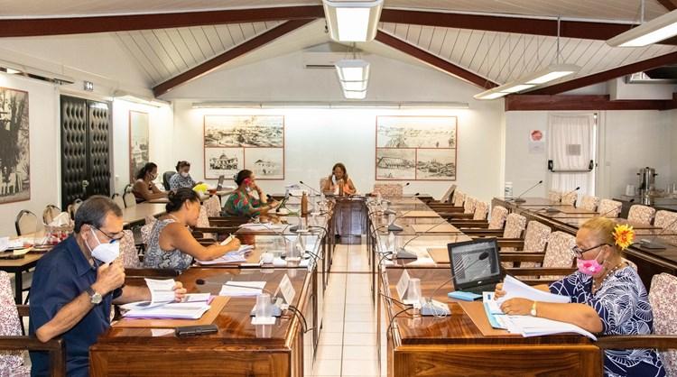 Quarante-et-un projets d'arrêté étudiés en commission de contrôle budgétaire et financier de l'assemblée de la Polynésie française