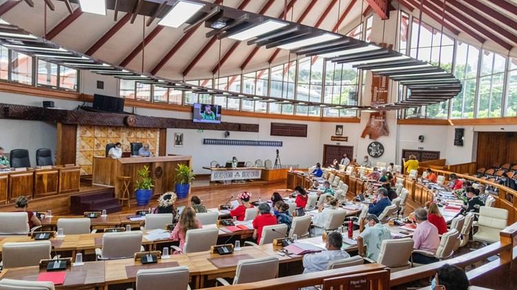 Huit textes adoptés lors de la septième séance plénière de la session budgétaire