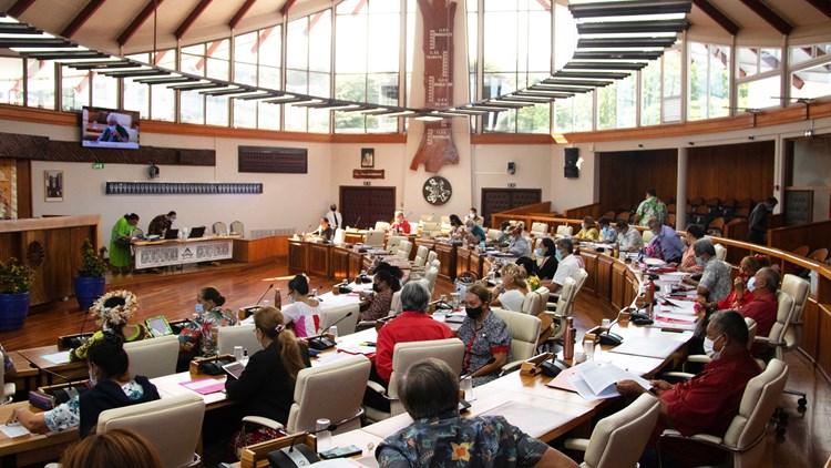 Dix textes adoptés lors de la 8ème séance de la session budgétaire