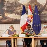 Comité de suivi du rapport annuel d'exécution de la coopération Union européenne – Polynésie française en présence de M. Robert SUARD