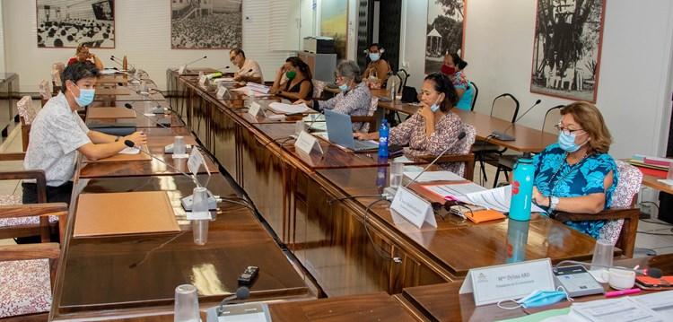 Sept projets d'arrêté étudiés en commission de contrôle budgétaire et financier